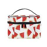 Bolsas de maquillaje grandes, sandías de viaje, impermeable, bolsa de almacenamiento para mujer