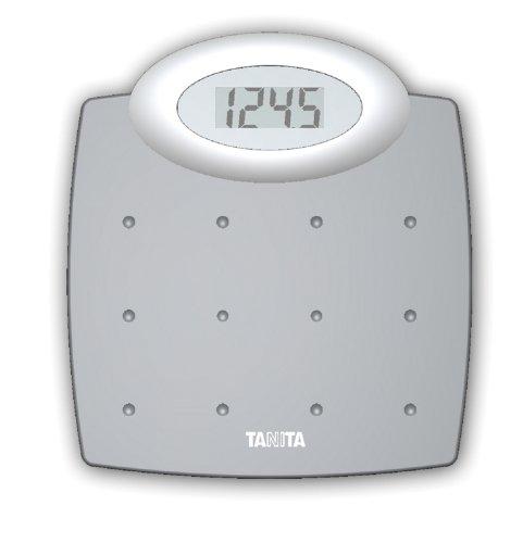 Tanita HD de 327Báscula, Plata, Capacidad de Carga de 150kg