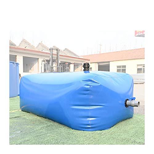 Al Aire libredepósito de Agua Dolce Gusto Tanque de Agua Plegable de PVC Plegable Buen Sellado Alta Capacidad sin BPA Granja jardín Tamaño Personalizado ZLINFE (Size : 500L/1x1x0.5M)