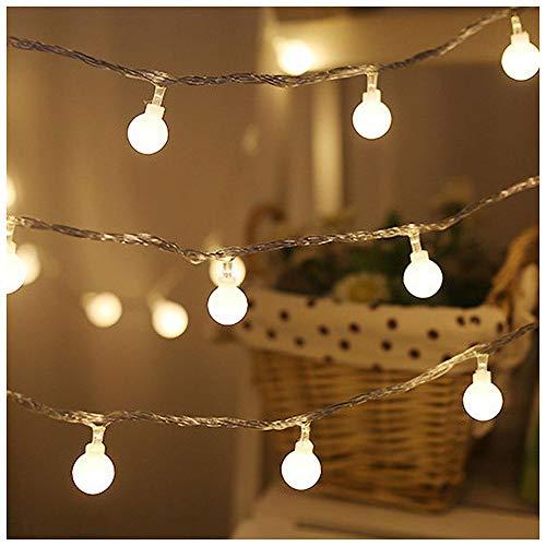 Las luces LED de cadena de Iswell se enchufan en interiores con...