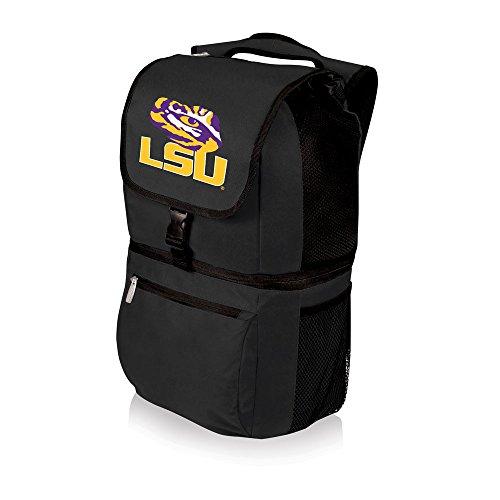 NCAA LSU Tigers Zuma Insulated Cooler Backpack, Black