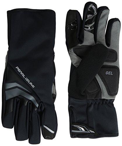 Pearl iZUMi Men's Elite Softshell Gel Gloves, Black, Small