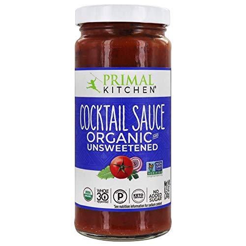 PRIMAL KITCHEN Organic Unsweetened Cocktail Sauce, 8.5 OZ