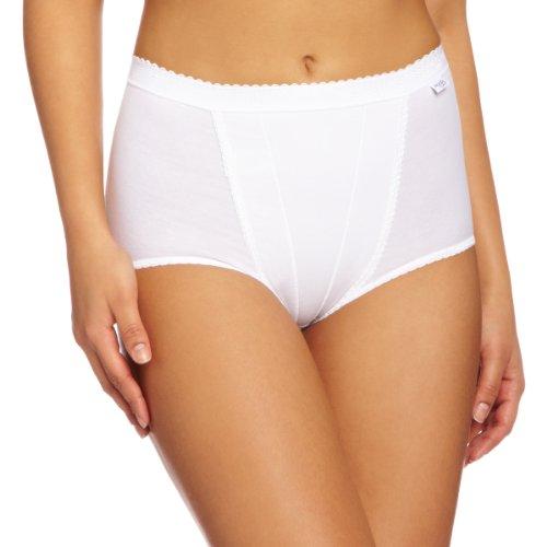 Sloggi Women s Control Maxi Brief 2 Pack, White, 12