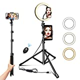 Ring Light with Tripod Stand...