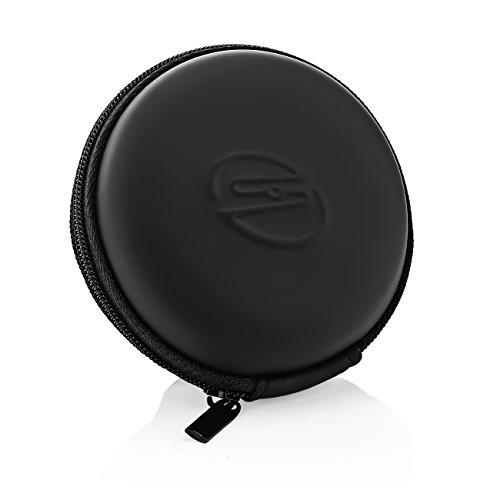 deleyCON SOUNDSTERS Universelle Kopfhörer-Tasche - Hülle für In-Ear Ohrhörer - Robuster Schutz für Unterwegs - integriertes Fach - für unzählige Kopfhörer passend