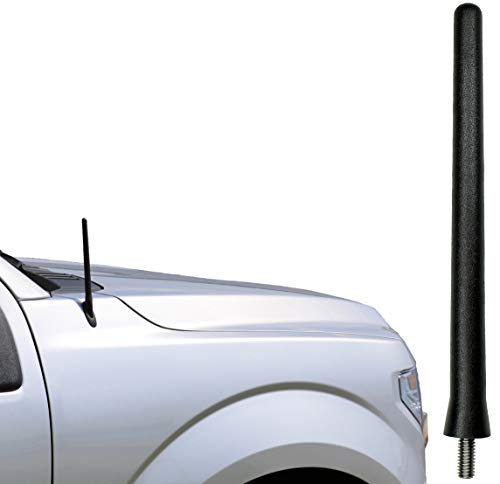 AntennaMastsRus - The Original 6 3/4 Inch is Compatible with Ford F-150 - F-150 Raptor (2009-2020) - Car Wash Proof Short Rubber Antenna - Internal Copper Coil - Premium Reception - German Engineered