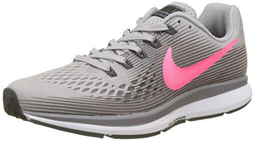 Nike Air Zoom Pegasus 34, Scarpe da Fitness Donna, Multicolore (Atmosphere Grey/Race 006), 38 EU