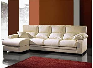 Amazon.es: sofas chaise longue 4 plazas