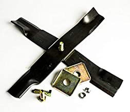 """Ballard Inc X-Blade Dual Mulching Blade Adapter (3"""" Wide Blade – 15/16″ Center Hole) – Deere"""