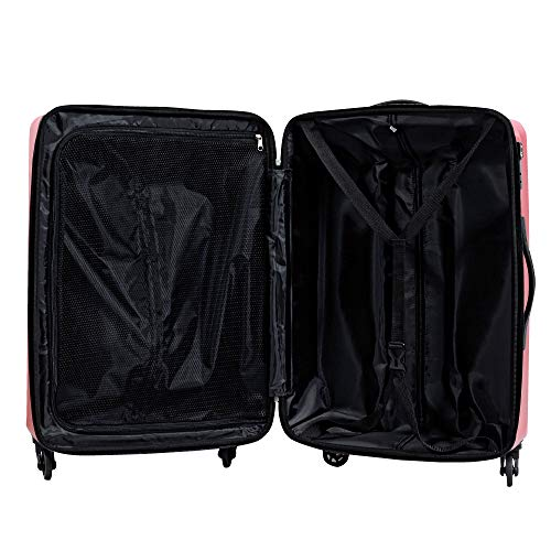 S型フェザーホワイト/PC7258機内持込可TSAロック搭載キャリーバッグスーツケースハード超軽量小型(1~3日用)