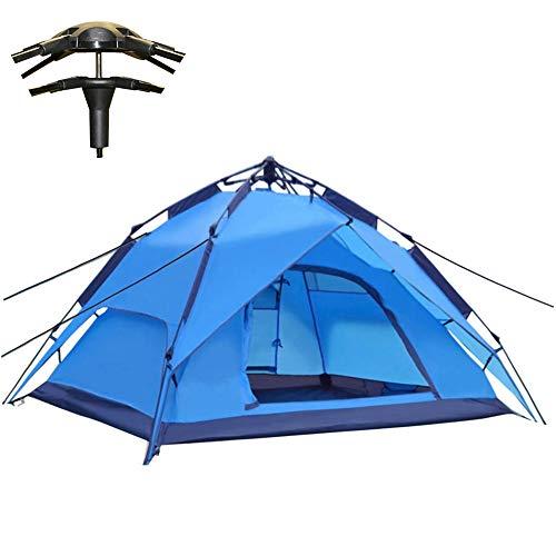 Outdoor Leichtes Pop up Wurfzelt 2-3 Personen Zelt Camping Festival 240 x 210 x 135 cm