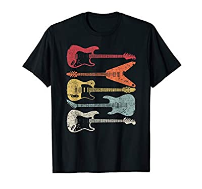 Guitar Shirt. Retro Style T-Shirt