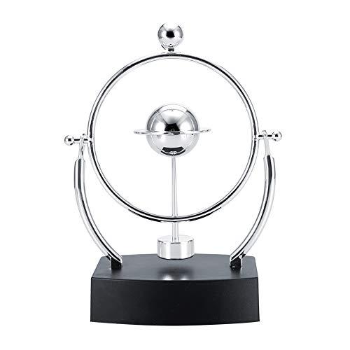 Revolving Gadget, Kreatives Revolving Gadget Perpetual Motion Desk Büro Dekor Physik Wissenschaft Kunst Spielzeug