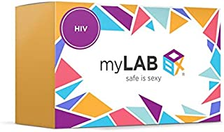 STD at Home Test for Women HIV-1 and HIV-2 by myLAB Box