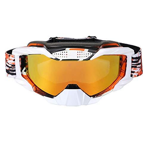 Duokon Motorcycle Riding Goggle, Gafas de sol de gafas de sol de casco de carreras a prueba de polvo de motocicleta universal