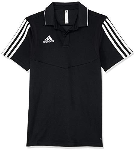 adidas Tiro 19, Polo Unisex Bambini, Black/White, 140