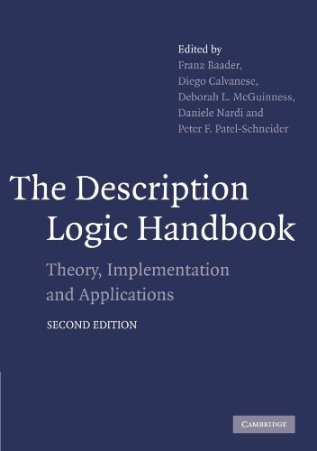 The Description Logic Handbook: Theory, Implementation and Applications