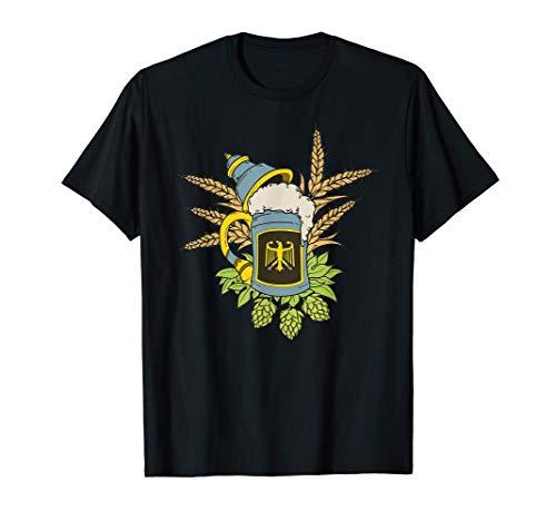 Regalo de jarra de cerveza alemana Camiseta