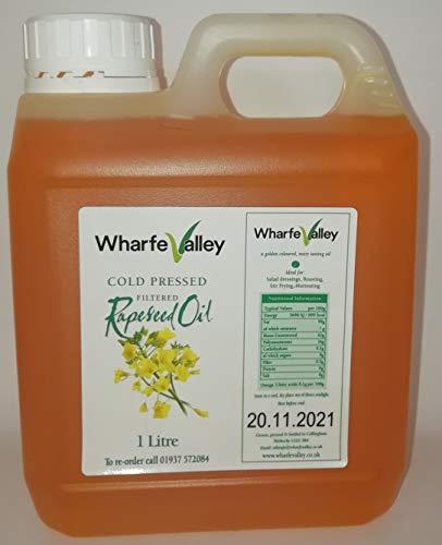 Wharfe Valley - Olio di colza pressato a freddo, 1 litro