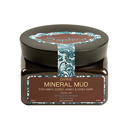 SAPHIRA Divine Curls Mineral Mud, 8.5 oz (Original Packaging)