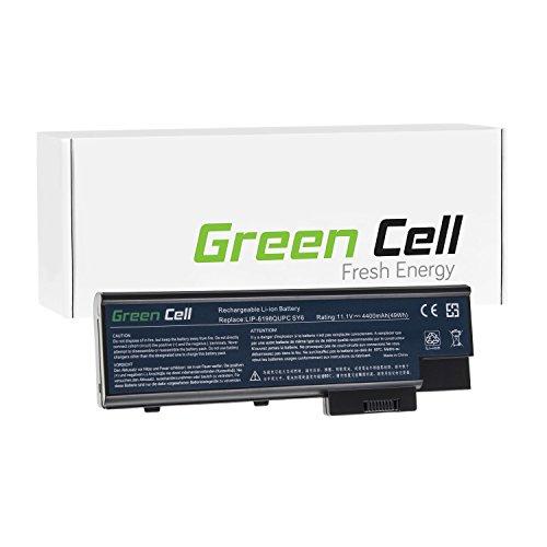 Green Cell® Standard Serie Batería para Acer Aspire 5670 Ordenador (6 Celdas 4400mAh 11.1V Negro)