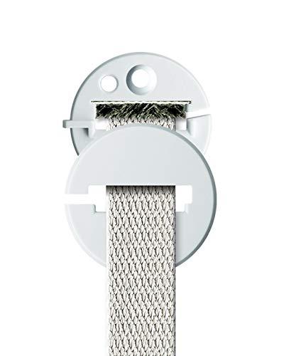Schellenberg 15102Duo Gurtführung rund für Rollladengurt mit winddichter Dichtung System Mini/Maxi