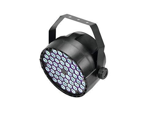 EUROLITE LED Big PARty TCL Spot | Scheinwerfer mit 54 x 3-Watt-3in1-LED in RGB und DMX | Standalone-Modus oder über DMX