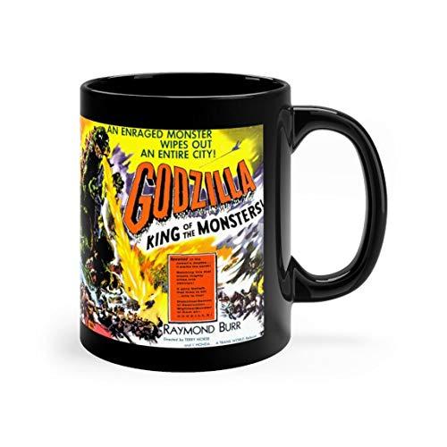 Godzilla Movie Black mug 11oz