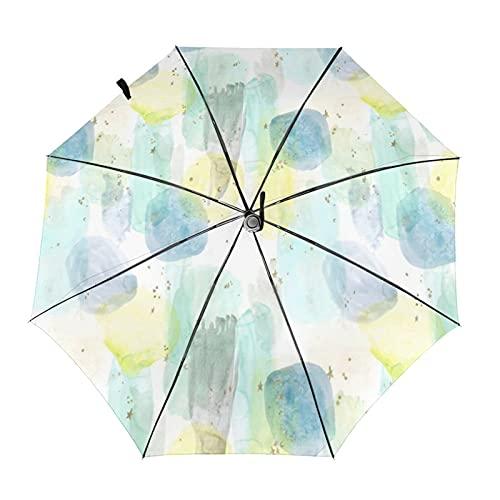 自動折りたたみ傘スターアブストラクト防風、防水、耐紫外線性があり、晴れや雨の日に適していますユニセックス。