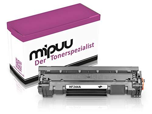 Mipuu toner compatibel met HP CF244A 44A (zwart) voor HP Laserjet Pro M15 M15a M15w M17 M17a M17w M28 M28a M28w printer - met chip
