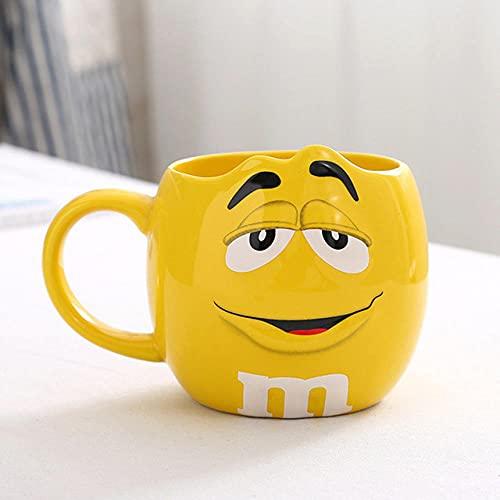 LongBin 2021 Neue 600 Ml M & Ms Kaffeetasse Mit Großer Kapazität Teemilch Für Frühstückstasse Und Keramikbecher, Um Ideen In Der Küche Auszudrücken-3_501-600Ml