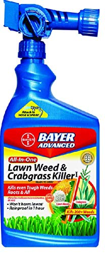 Bayer 704080A All-in-One Weed and Crabgrass Killer