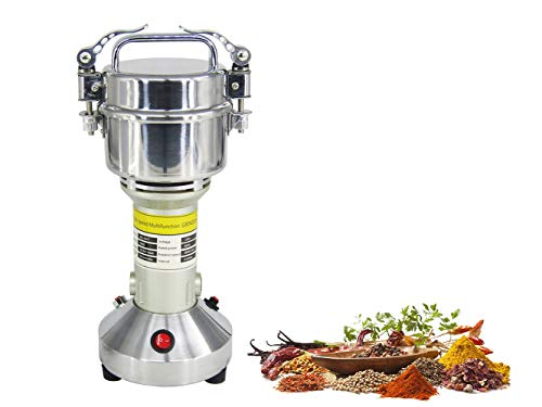 150g Electric Grain Grinder Mill Cereal Spice Grinder Herb Pulverizer Superfine Powder Machine 110V or 220V (110V)