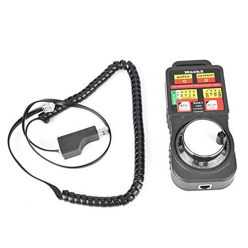 Volantino elettronico, MACH3 Generatore di controllo manuale volantino elettronico industriale USB per fresatrice CNC Torni CNC