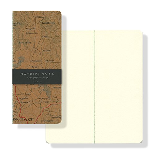 山本紙業 RO-BIKI NOTE Topographical Map