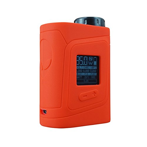 VAMPCASE Silikon Hülle für SMOK ALIEN AL85 BABY Schutzhülle Case - Rot