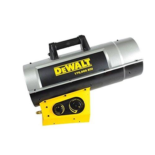 DeWalt F340730 DXH170FAVT Forced Air Propane Heater,Yellow