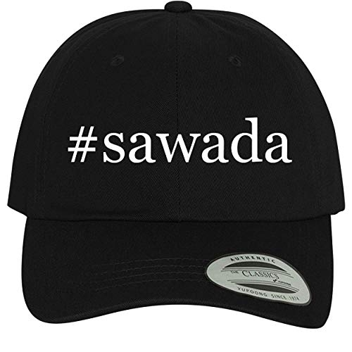 BH Cool Designs #Sawada - Comfortable Dad Hat Baseball Cap, Black