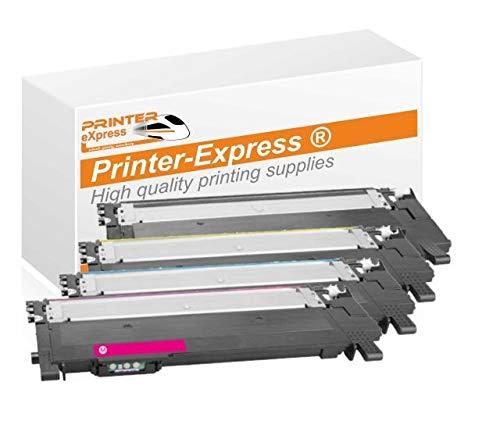Printer-eXpress 4er Set Toner I MIT CHIP I ersetzt HP W2070A, W2071A, W2072A, W2073A, 117A für Color Laser 150 150A 150NW I MFP 178 178NW 178NWG 179 179FNG 179FNW 179FWG Drucker