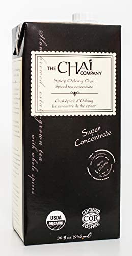 THE CHAI COMPANY Spicy Oolong Chai 946 ML product image