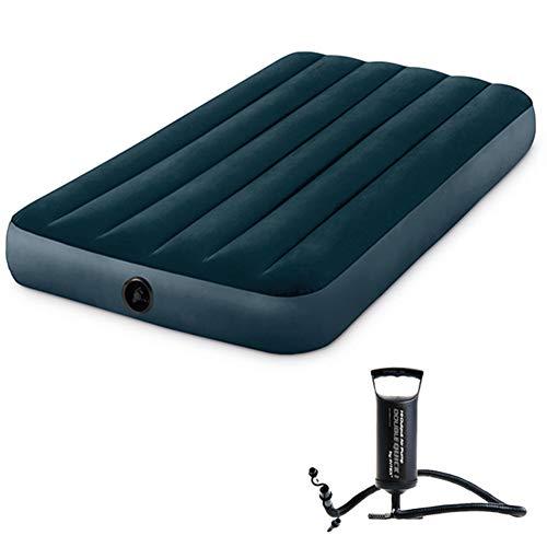 FANLI Luftbett Zeltmatratze, Isoliert Pannensicher No-Slip Aufblasbare Bett Für Innen Draussen Camping-b 191x99cm(75x39in)