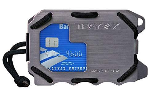 Trayvax Original 2.0 Metal Wallet (Grey)