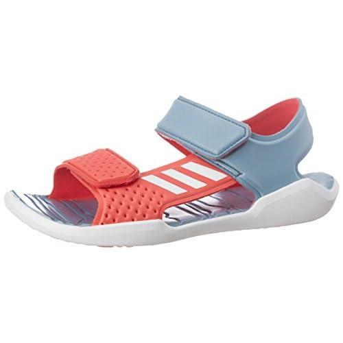 adidas RapidaSwim J, Scarpe da Ginnastica Unisex – Bambini, Blu (Azuta con Ftwbla/Rosbas), 36 EU