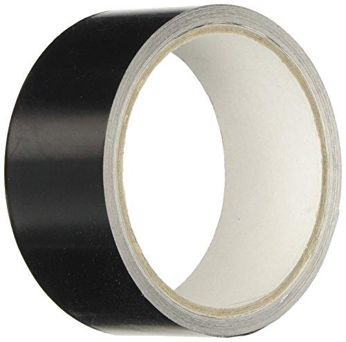 Geko - Nastro adesivo in alluminio, alta temperatura, 40 mmx9m, Nero, 1 pezzo