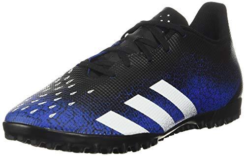 adidas Predator Freak .4 Turf - Botas de fútbol para Hombre, Color Azul, Blanco y Negro, Talla 40 EU