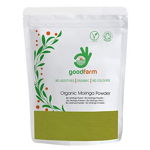 GoodFarm - Moringa ecológica en polvo, 500 g