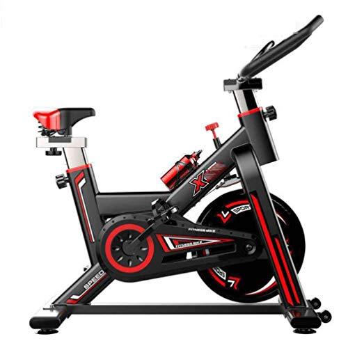 Spin bicicletas bicicletas de ejercicio profesional, cubierta con medidor electrónico de visualización: exploración, velocidad, tiempo, distancia, calorías de Spin Bike Cardio entrenamiento asiento aj