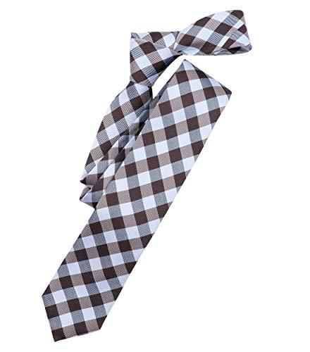 Venti Herren Karierte Krawatte Modisches Karomuster