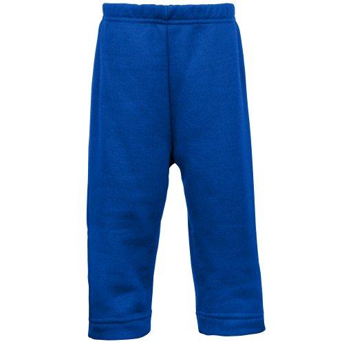 Maddins- Pantalones de deporte de colores para bebé unisex (24-30 meses) (Azul)